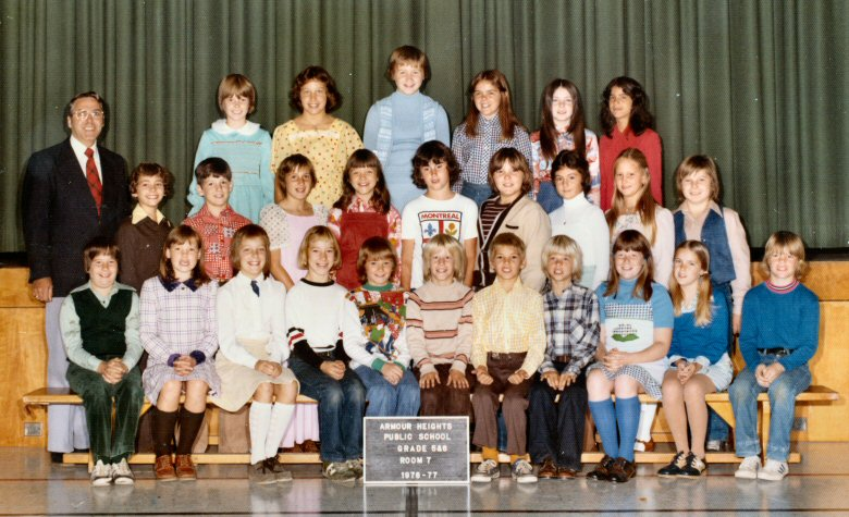 1977_Grade_5_and_6_Rm_7_Mr_J_Roger_Cole Cheryl Cole Photos